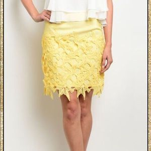 Dresses & Skirts - 'Find My Way' Crochet Skirt